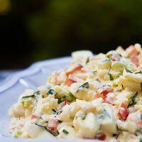 Tarragon Egg Salad Recipe