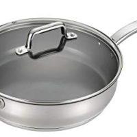 Stainless Steel Nonstick Ceramic Coating  Saute Pan Fry Pan Cookware