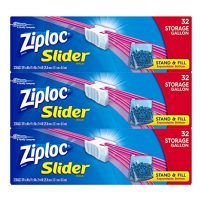 Ziploc Gallon Slider Storage Bags