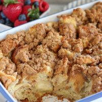 Cinnamon Vanilla Baked French Toast
