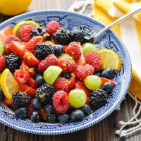 Honey Lemon Fruit Salad Recipe