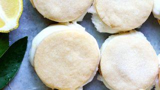 Lemon Coconut Ice Cream Sandwiches