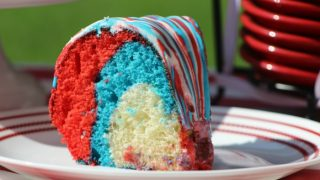 4th of July Favorite: Patriotic Bundt Cake Recipe