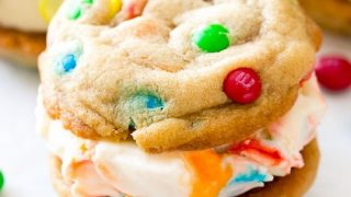 M&M® Ice Cream Cookie Sandwiches