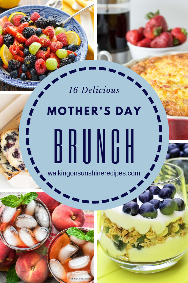 Delicious brunch recipes.