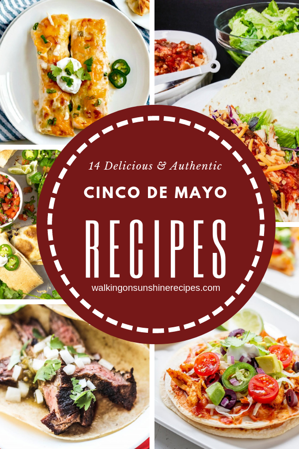 Cinco de Mayo Menu collection of recipes.