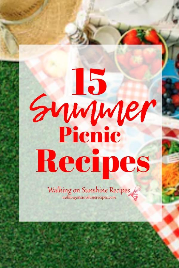15 summer picnic recipes