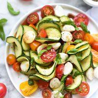Caprese Zucchini Salad