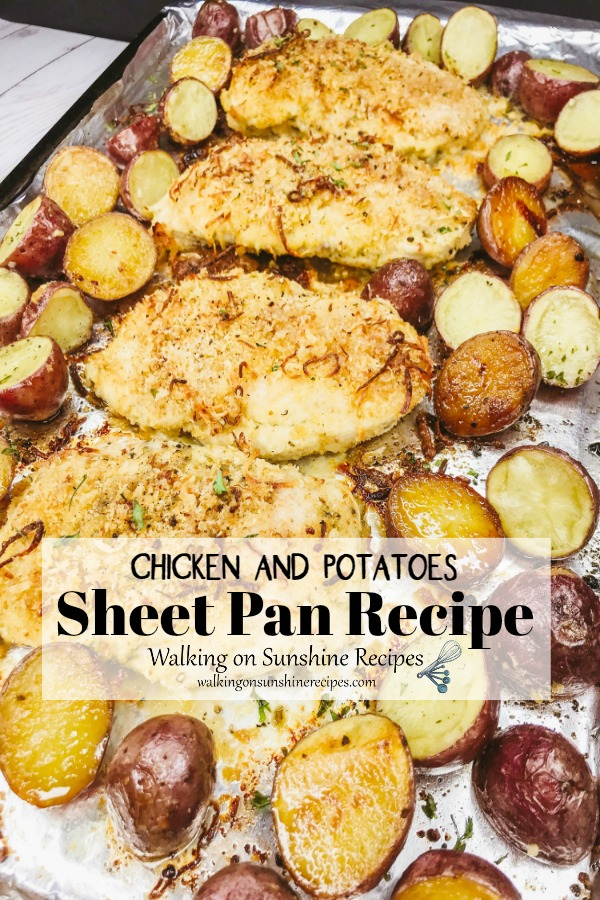 Chicken and Potatoes Sheet Pan Recipe