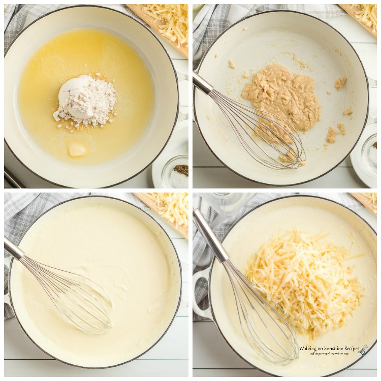 Step by Step photos for Panera Mac and Cheese Copycat Recipe