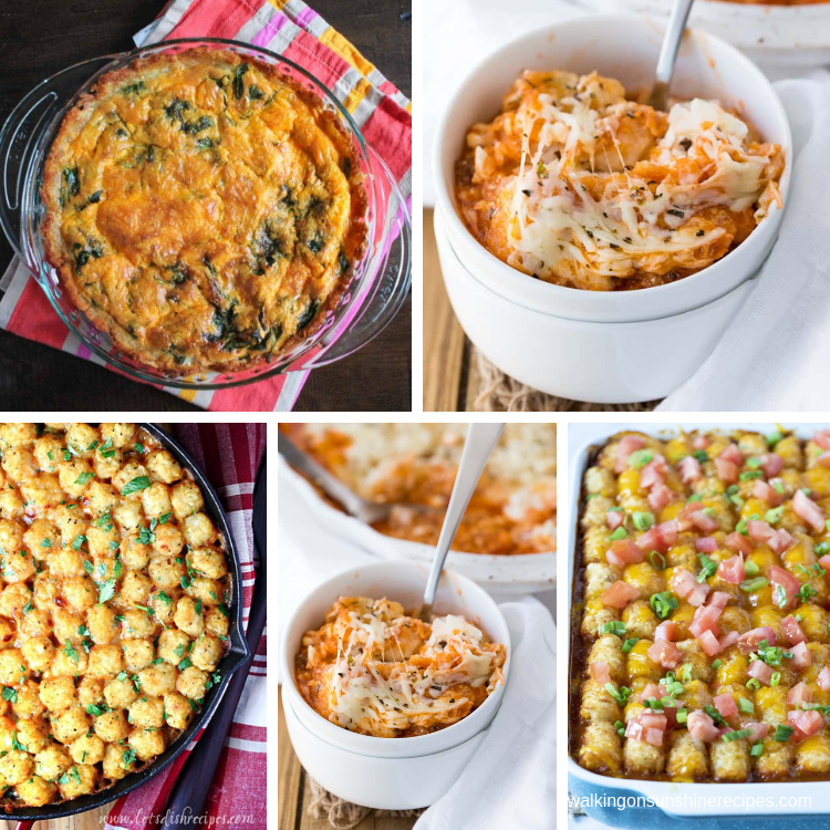 5 easy to prepare tater tot casserole recipes