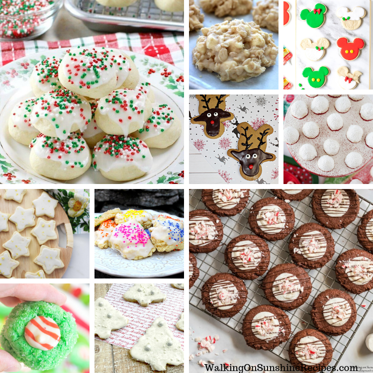 Christmas Cookies Roundup
