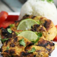 Grilled Lime Tequila Chicken Breasts -
