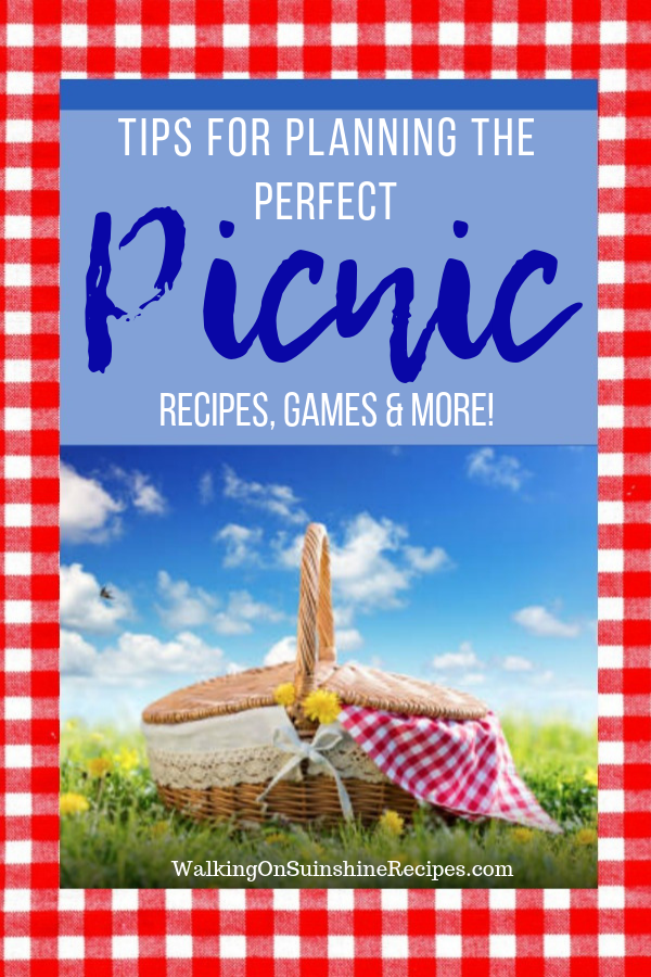 picnic basket ready for summer