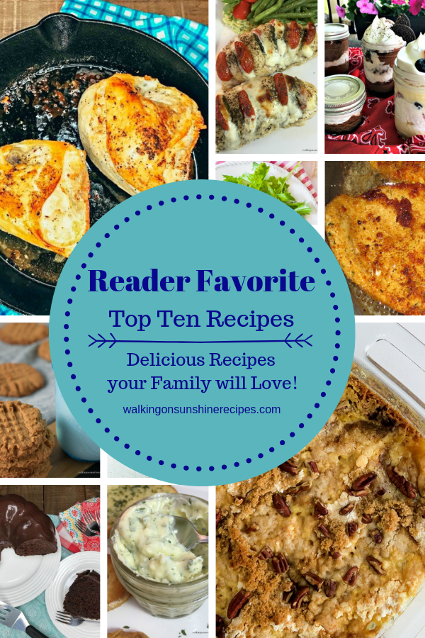 Family favorite easy delicious recipes.