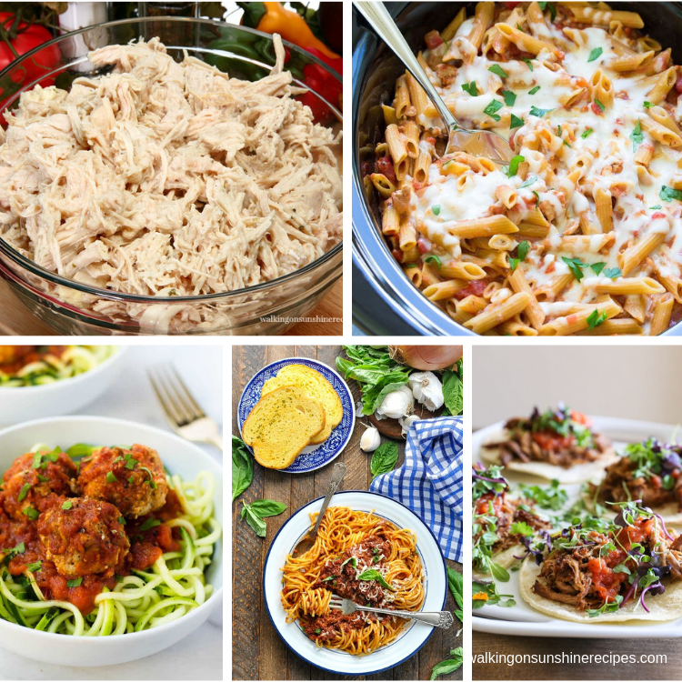 5 easy delicious healthy crock pot meals and recipes.