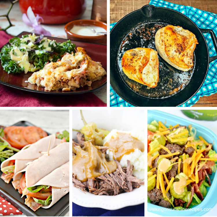 5 delicious low carb recipes for dinner