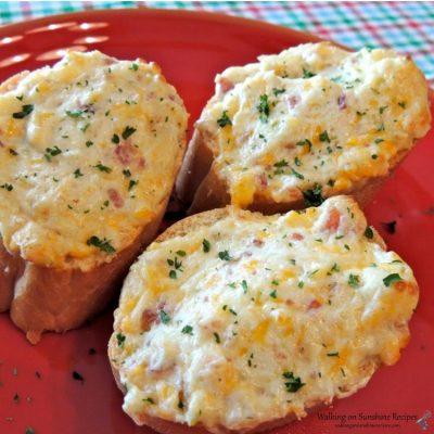 Jalapeno Bacon Garlic Bread