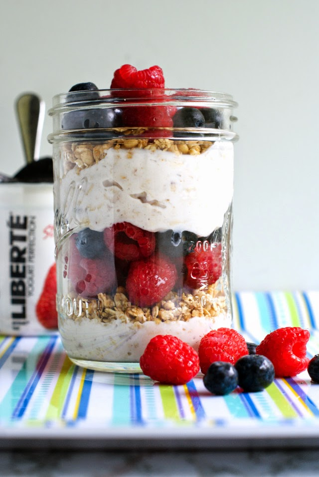 Make-Ahead Mason Jar Breakfast Parfait Recipes
