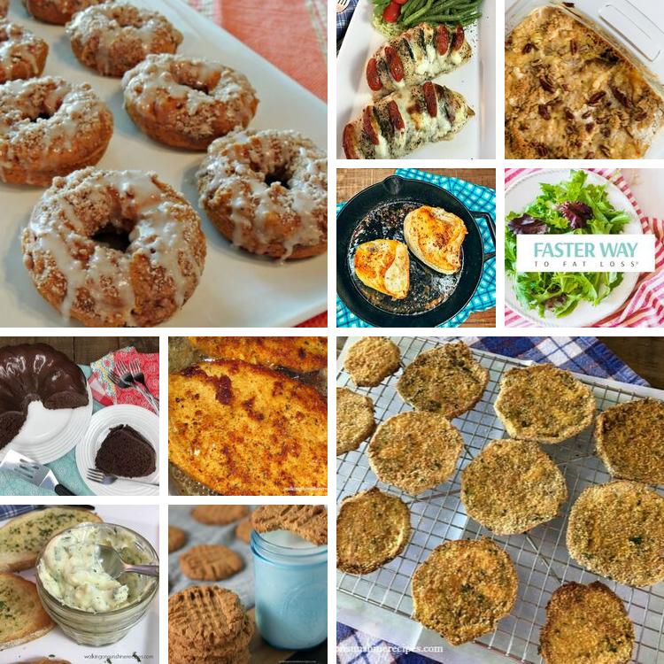 Top ten popular recipes
