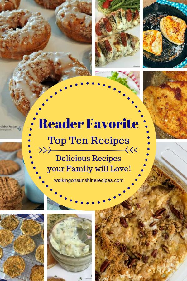 Top Ten Recipes Summer 2019