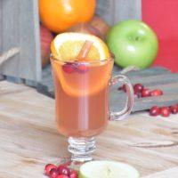 Cranberry Orange Spiced Cider