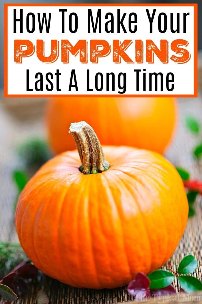 Tips for Carving Pumpkins & Preserving Them
