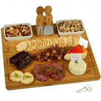 Picnic at Ascot Bamboo Cutting Board for Cheese