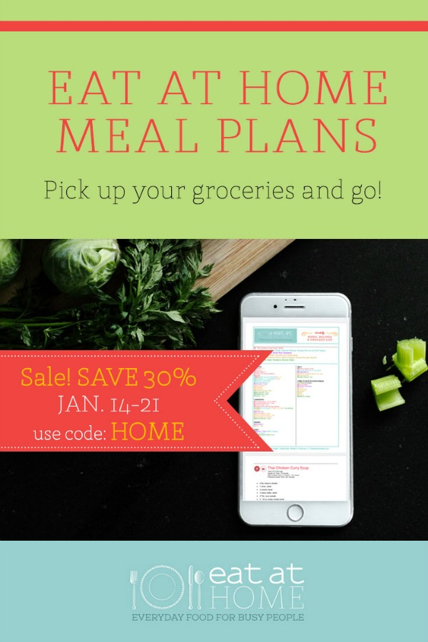 Eat at Home Meal Plans