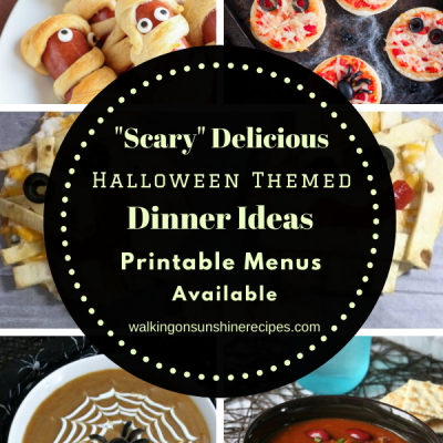 Fun Halloween Themed Meals
