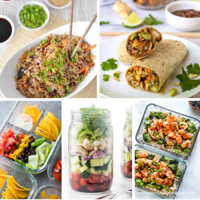 Weekly Meal Plan – Easy Portable Lunches
