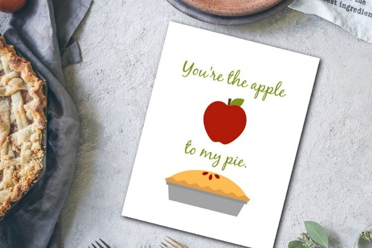 Apple Pie Printable – Just for YOU!