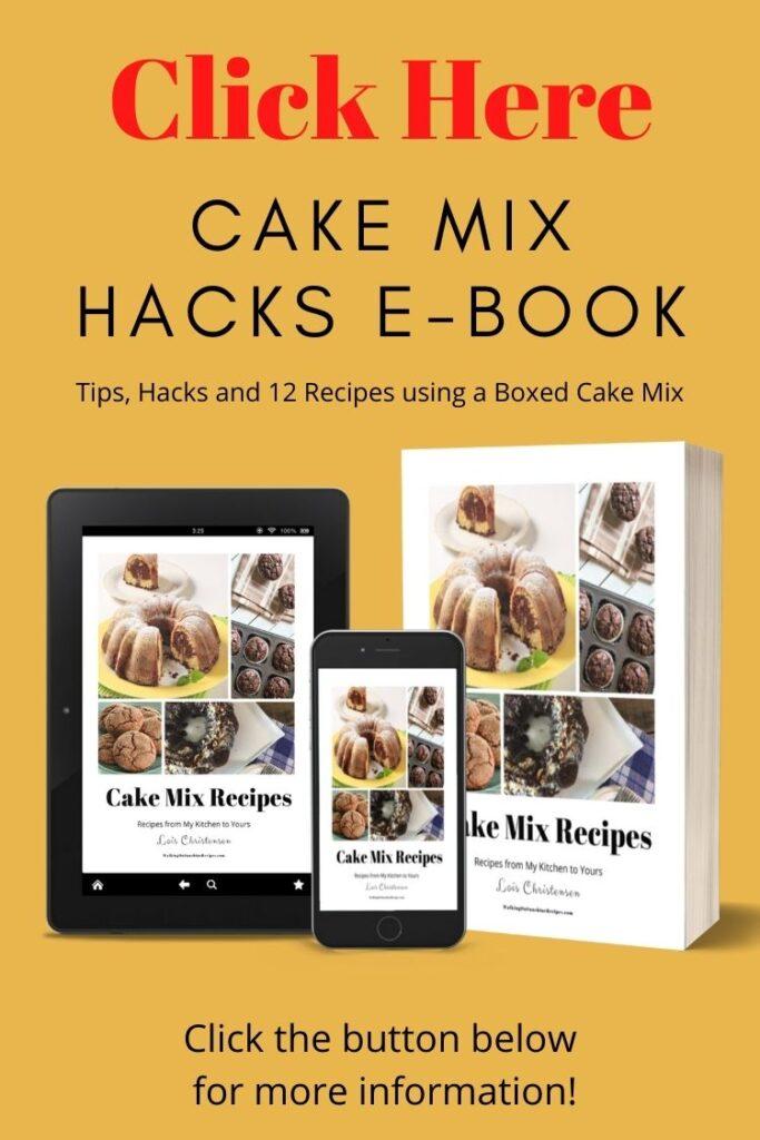 cake mix hacks