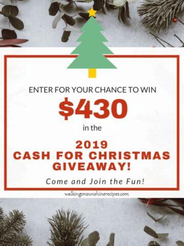 Christmas 2019 Cash Giveaway