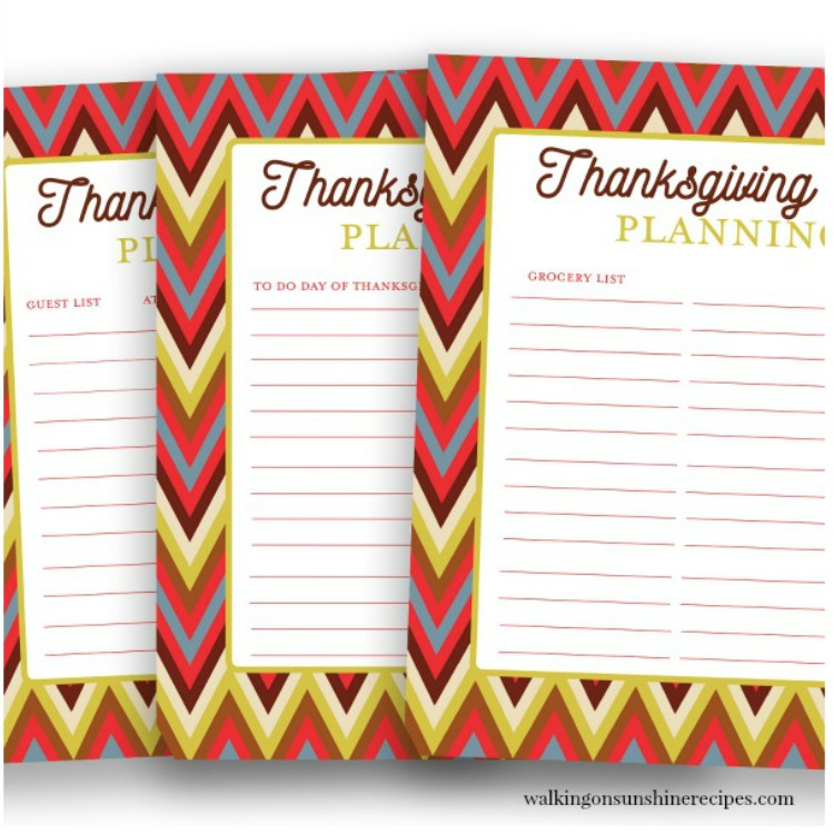 Thanksgiving Planner for Tips for Thanksgiving post