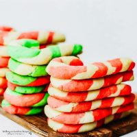 Day #3 - Candy Cane Sugar Cookies Recipe