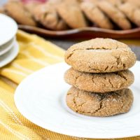 Day #7 - Chewy Gingersnap Cookies Recipe