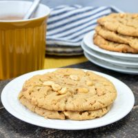 Day #8 - Chunky Peanut Butter Cookies Recipe