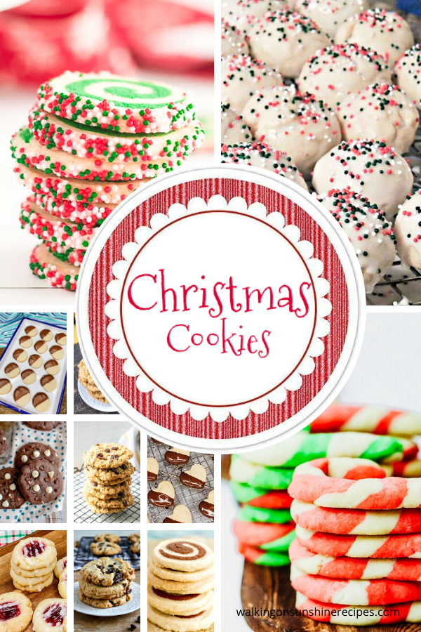12 Christmas Cookies to celebrate the holiday