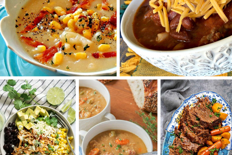 Weekly Meal Plan – Easy Slow Cooker Recipes