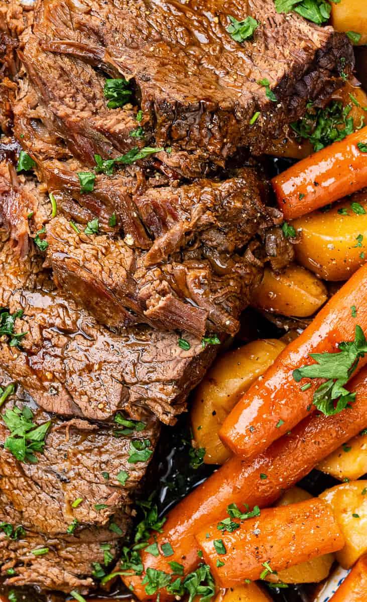 Slow Cooker Roast Beef| Video Tutorial