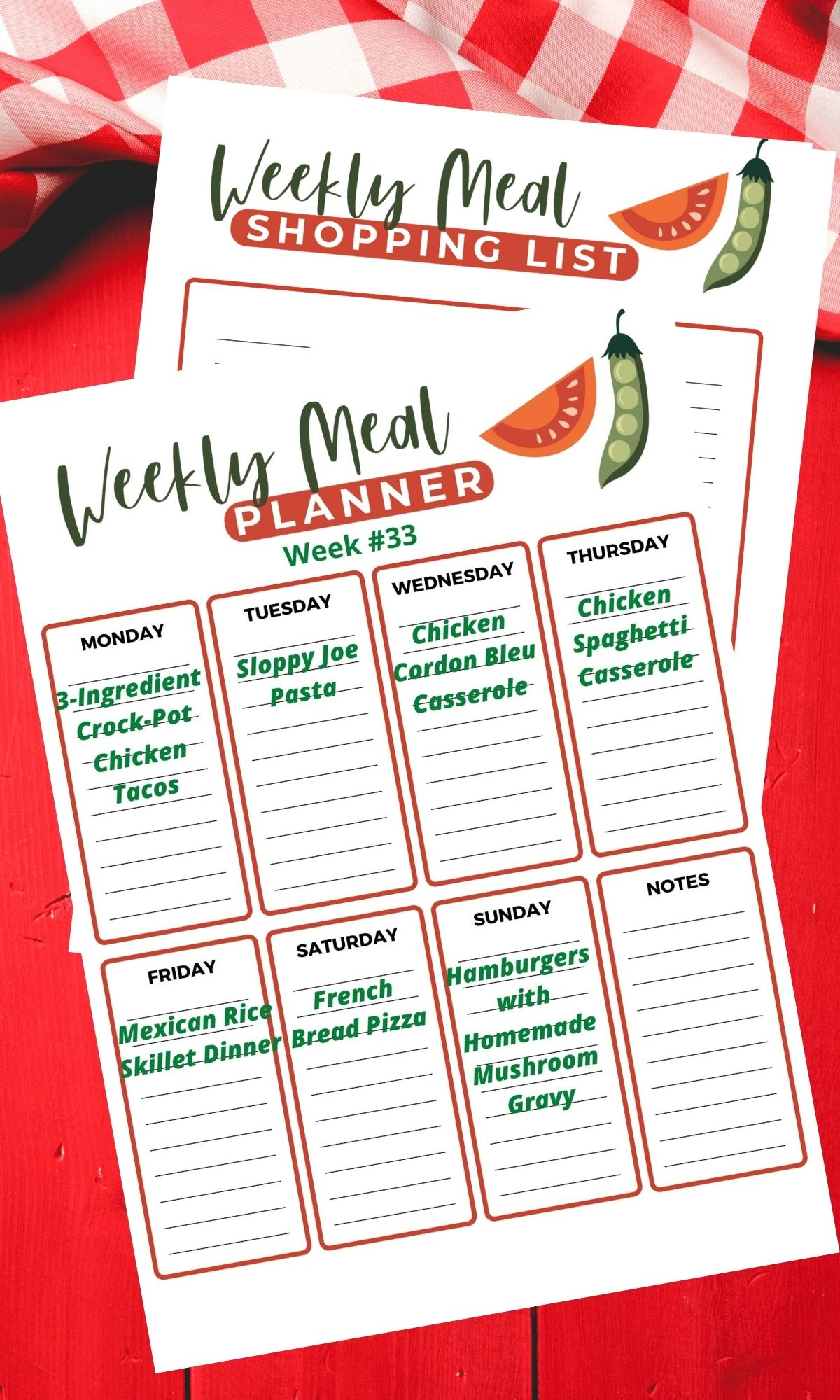 Cheap Meal Planning.