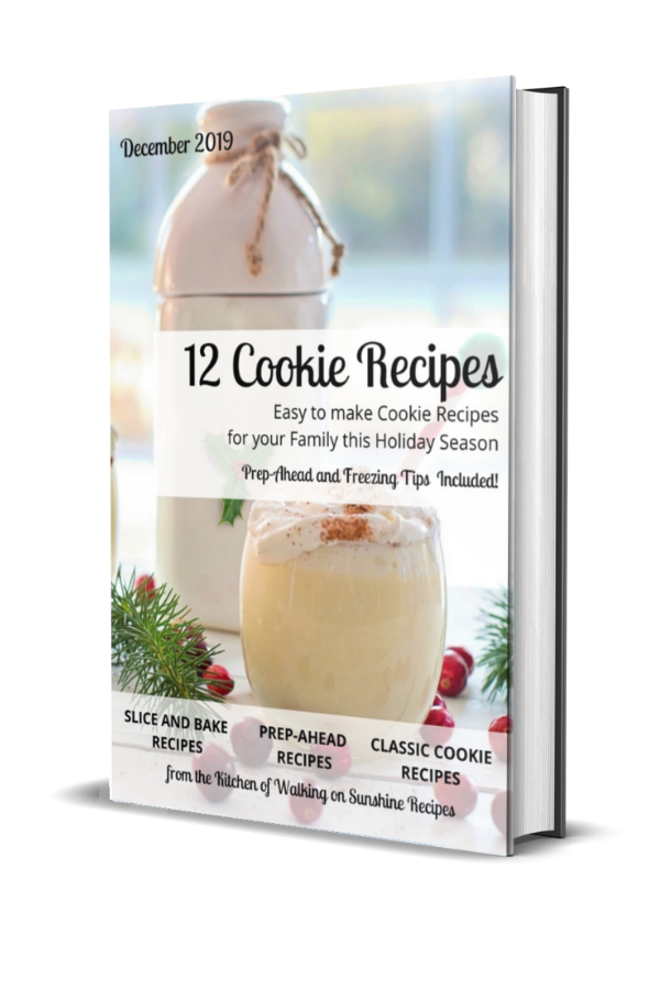 12 Days of Christmas Cookies E-Book