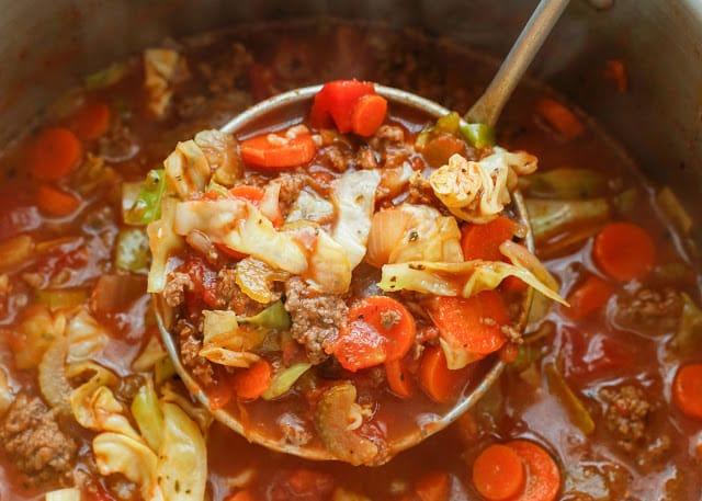 Hearty Italian Vegetable Beef Soup