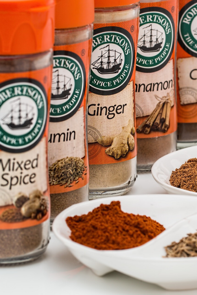 Spices are part of the 10 Essential Pantry Items needed for every organized household.