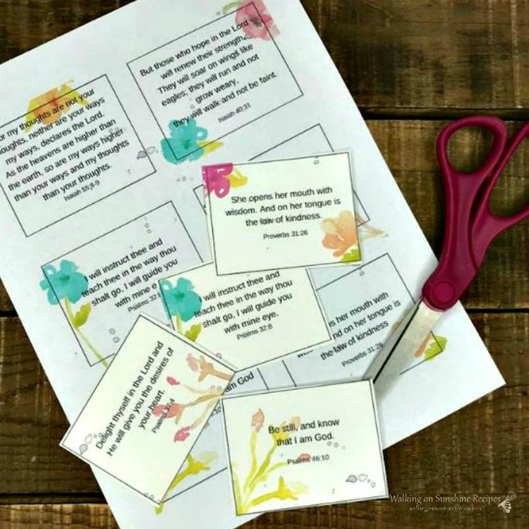 Scripture Cards from WOS with logo