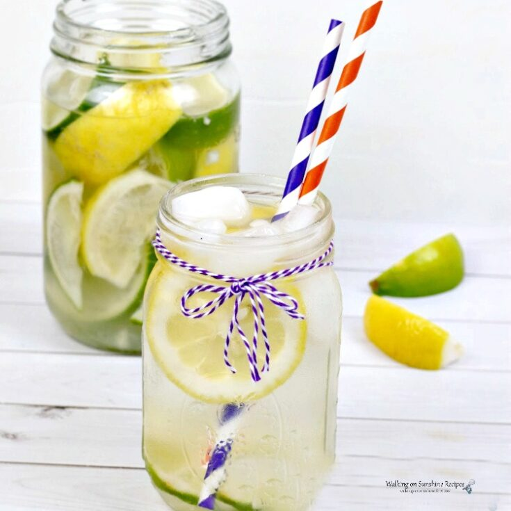 Lemon Lime Water Recipe