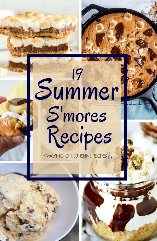 19 Summer S'mores Recipes