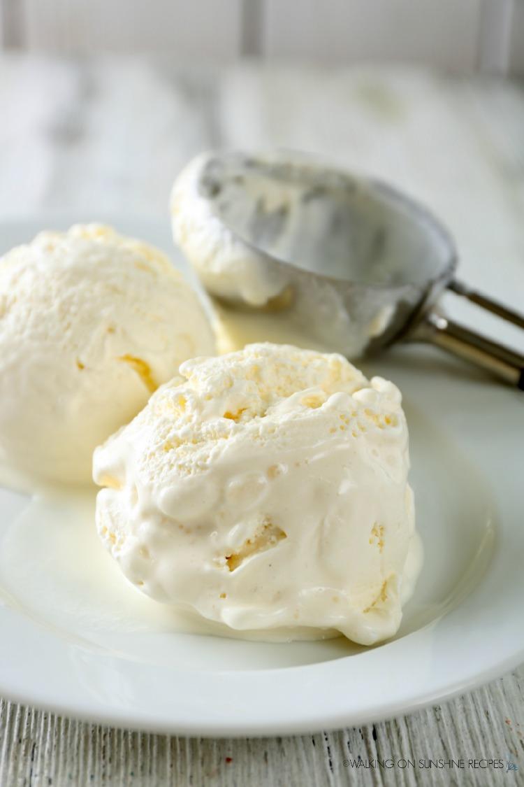 homemade vanilla ice cream recipes for ice cream makers.