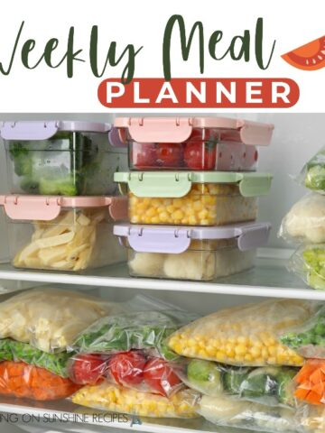 Weekly Meal Planner Promo Photo